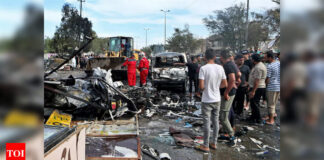1 killed, 12 wounded in market explosion in Iraq's capital - Times of India