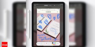 Apple may unveil third-generation Apple Pencil on April 20 - Times of India
