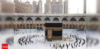 No Haj without two vaccine doses: Haj Committee of India   India News - Times of India