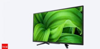 Sony Android TV:  Sony launches 32-inch Bravia 32W830 smart Android TV, priced at Rs 30,990 - Times of India